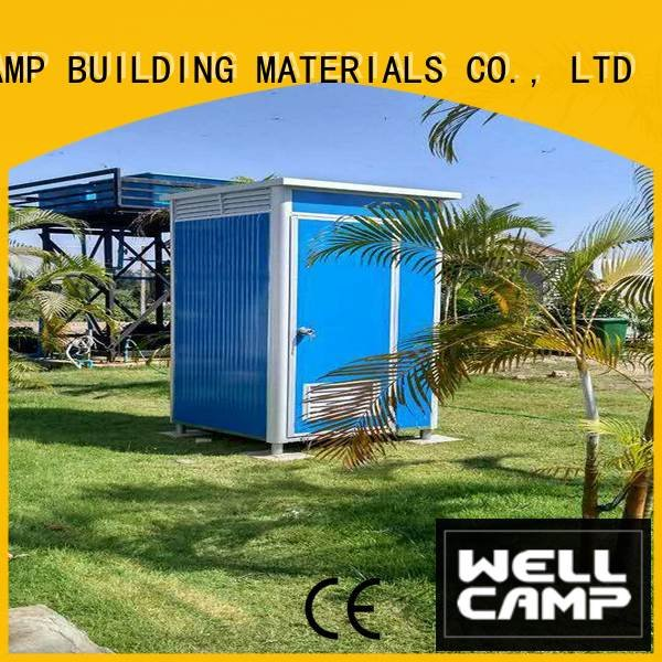 luxury portable toilets wellcamp units container working