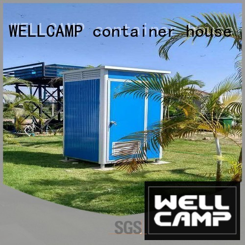 double outdoor luxury portable toilets mobile move WELLCAMP, WELLCAMP prefab house, WELLCAMP container house Brand