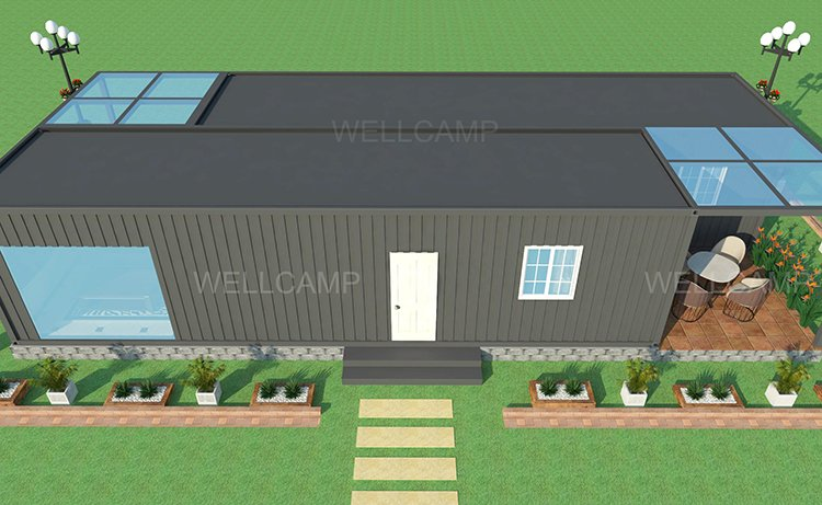 Wellcamp Light Steel Container Villa Low Cost, Wellcamp CV-2