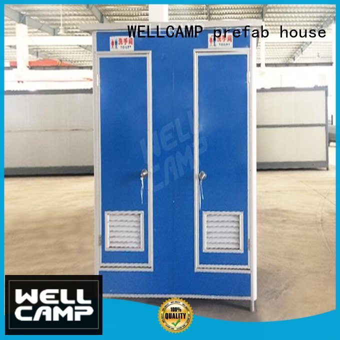 WELLCAMP, WELLCAMP prefab house, WELLCAMP container house Brand portable move luxury portable toilets t1 supplier