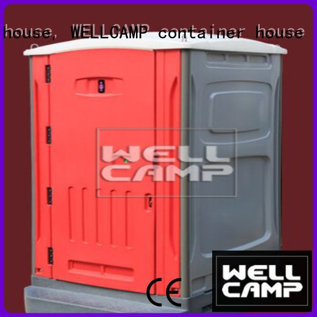 working sheet luxury portable toilets WELLCAMP, WELLCAMP prefab house, WELLCAMP container house