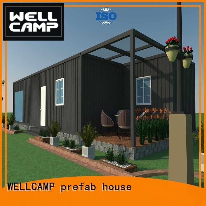 premade villa customized light steel villa WELLCAMP, WELLCAMP prefab house, WELLCAMP container house Brand