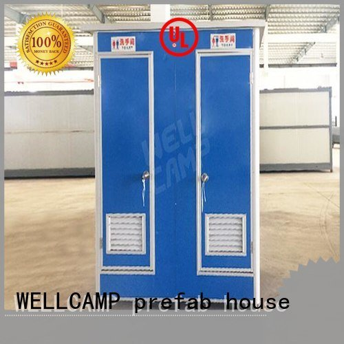 WELLCAMP, WELLCAMP prefab house, WELLCAMP container house luxury portable toilets movable public t1 wellcamp