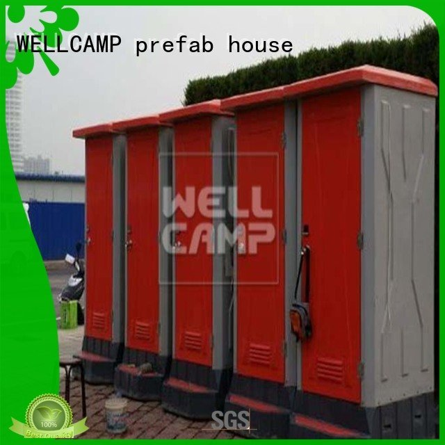 Brand outdoor sheet luxury portable toilets movable frp