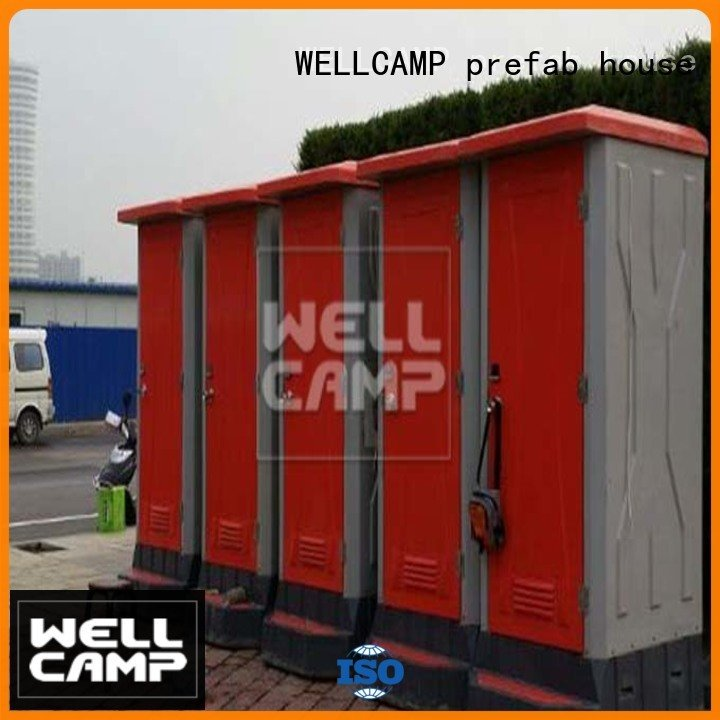 luxury portable toilets prefabricated units best portable toilet WELLCAMP, WELLCAMP prefab house, WELLCAMP container house Warra