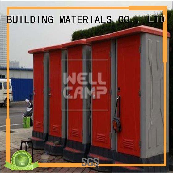 WELLCAMP, WELLCAMP prefab house, WELLCAMP container house Brand aluminum prefabricated custom luxury portable toilets