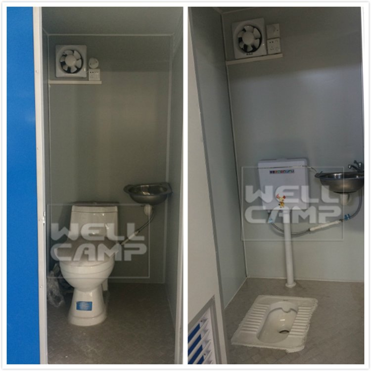 WELLCAMP, WELLCAMP prefab house, WELLCAMP container house-Ho Portable Toilets Hyderabad Aluminum De-1