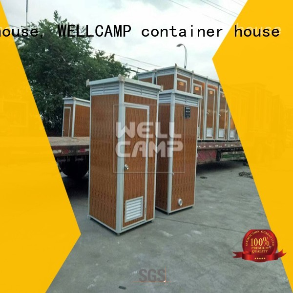 Quality WELLCAMP, WELLCAMP prefab house, WELLCAMP container house Brand t5 best portable toilet