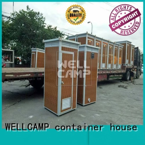 aluminum toilet OEM best portable toilet WELLCAMP, WELLCAMP prefab house, WELLCAMP container house