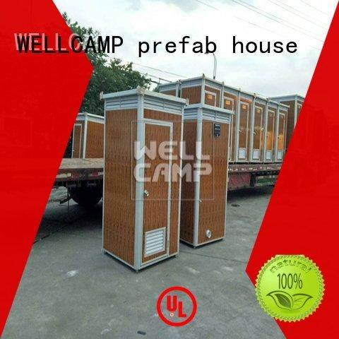 working sheet frp luxury portable toilets