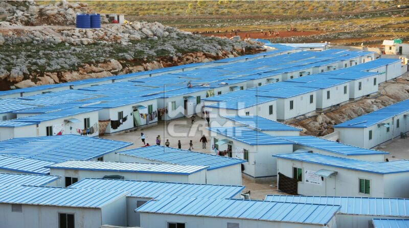 Wellcamp Prefabricated Refugee house