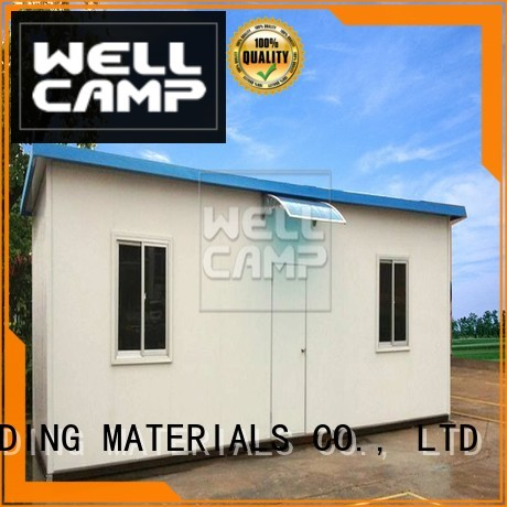 WELLCAMP, WELLCAMP prefab house, WELLCAMP container house Brand home dormitory custom modular prefabricated house suppliers