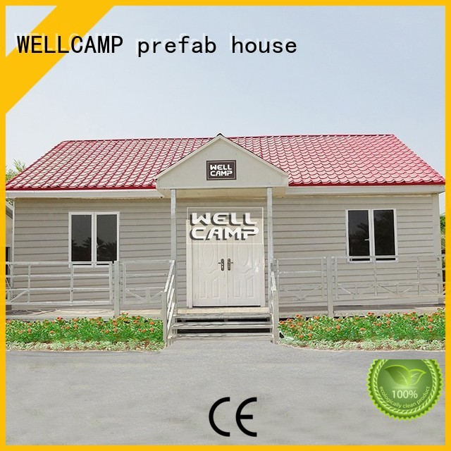 WELLCAMP, WELLCAMP prefab house, WELLCAMP container house Brand house Prefabricated Concrete Villa v23 supplier