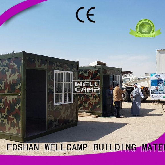 c5 folding container house c16 WELLCAMP, WELLCAMP prefab house, WELLCAMP container house