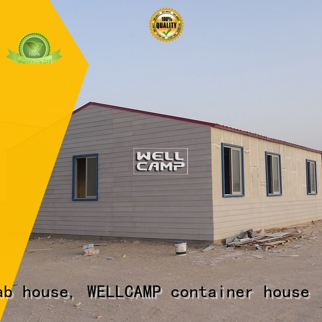 Quality WELLCAMP, WELLCAMP prefab house, WELLCAMP container house Brand Prefabricated Concrete Villa cv2