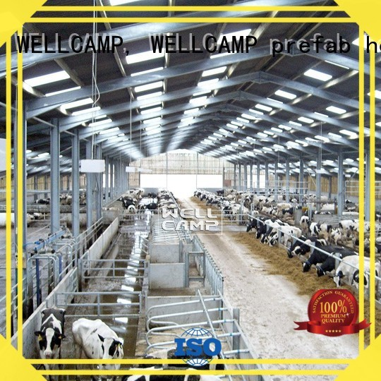 WELLCAMP, WELLCAMP prefab house, WELLCAMP container house Brand shed structure steel shed manufacture