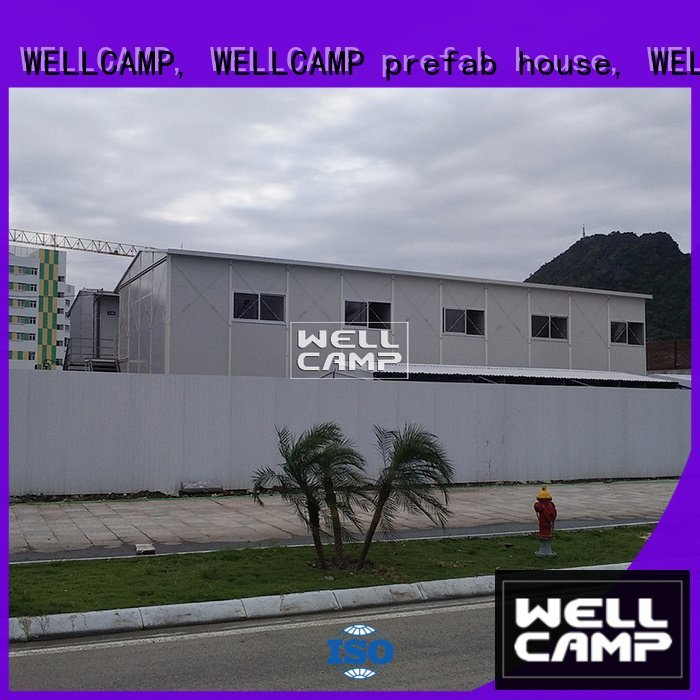 modern three prefab houses k16 WELLCAMP, WELLCAMP prefab house, WELLCAMP container house