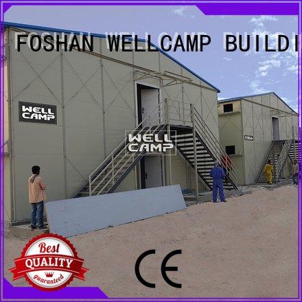 Custom prefab houses recyclable classroom eps WELLCAMP, WELLCAMP prefab house, WELLCAMP container house