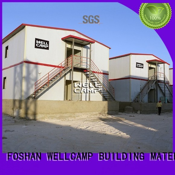 Hot refugee modular prefabricated house suppliers t15 WELLCAMP, WELLCAMP prefab house, WELLCAMP container house Brand