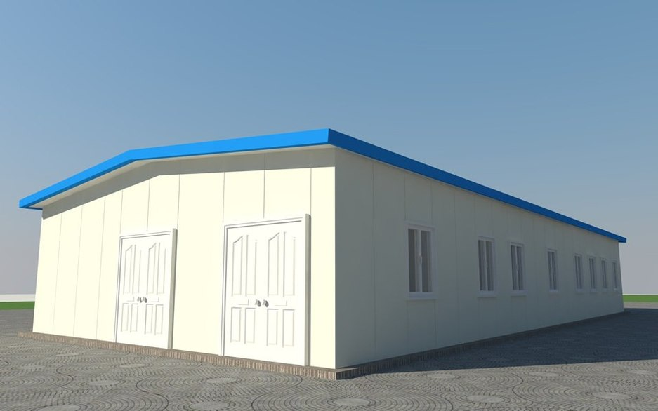 Clinic front elevation outside