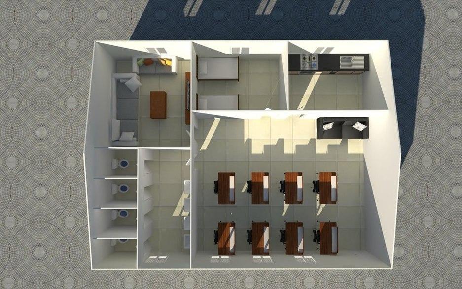 Guard room plan
