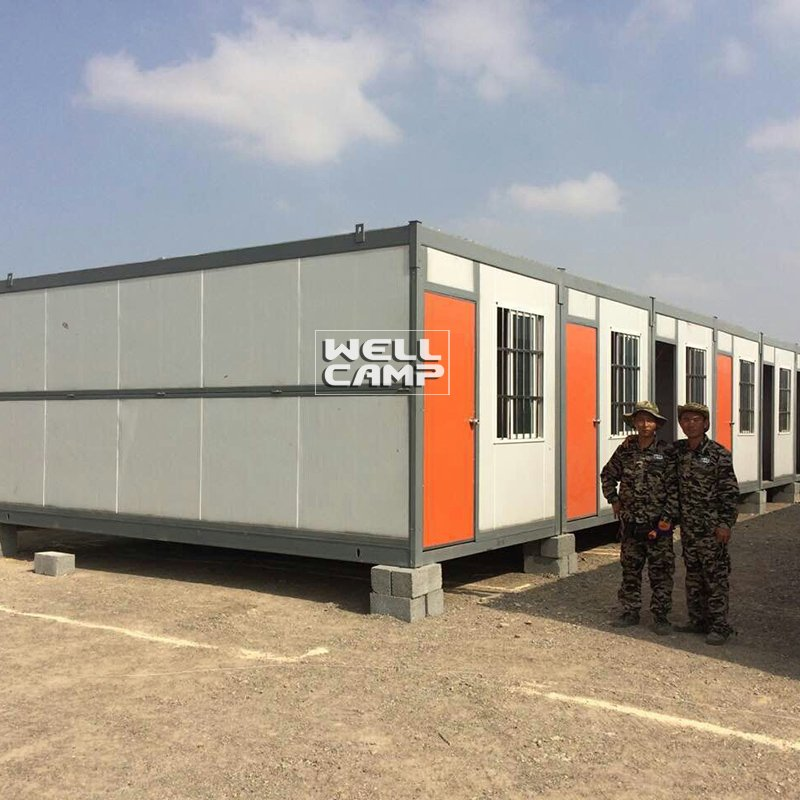 Light Steel Folding Container House for Worker, Wellcamp C-12