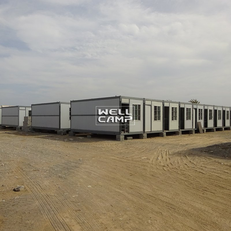 Portable Expandable Container House for Workers, Wellcamp C-3