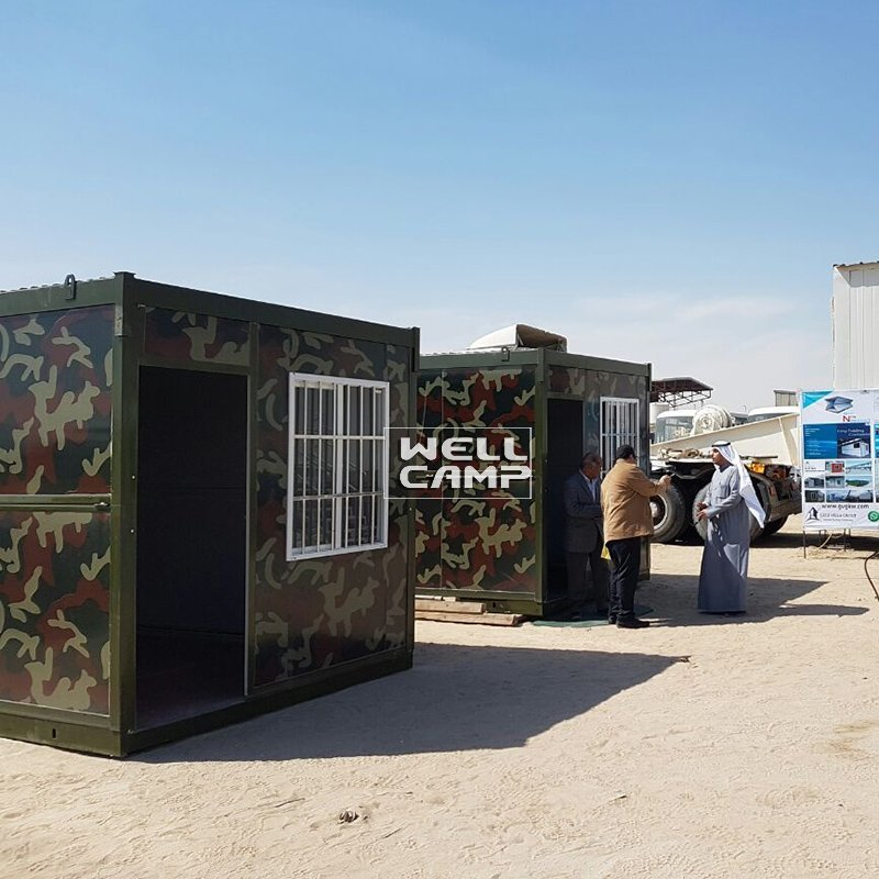Eco Friendly Material Color Folding Container House Wellcamp F-9