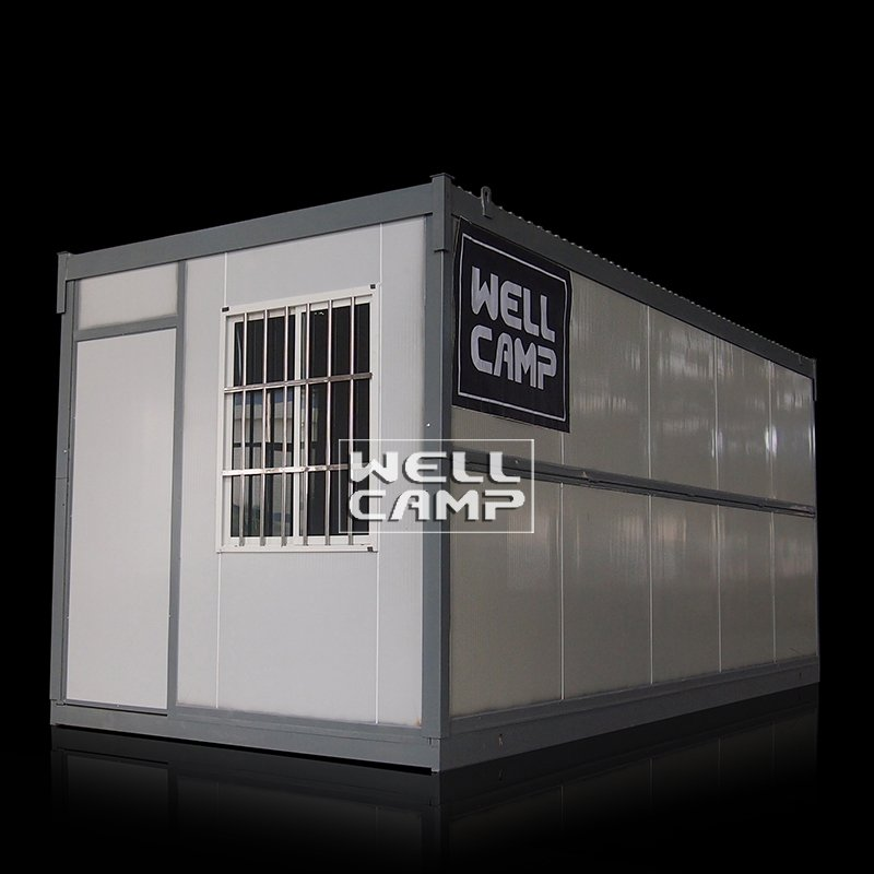 Easy Move Folding Container House Low Cost Wellcamp F-8