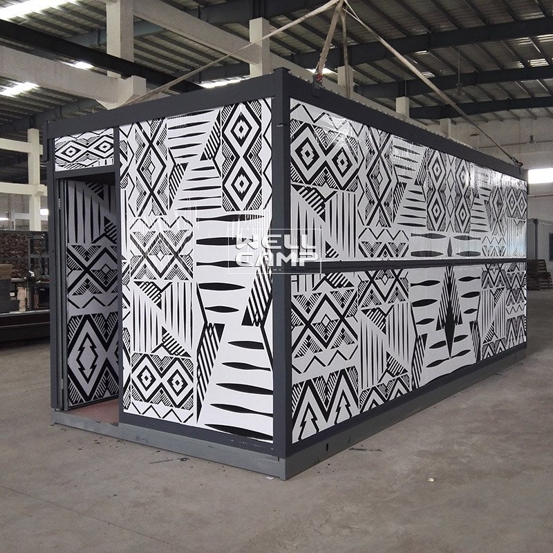 Eco Friendly Color Folding Container House For Worker Wellcamp F-7