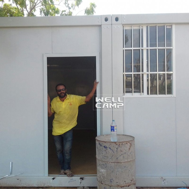 Fast Installed Detachable Container House Low Cost, Wellcamp D-2