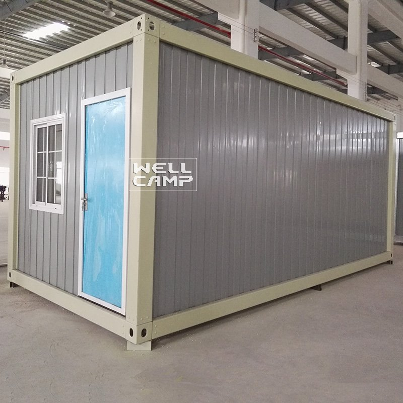 WELLCAMP, WELLCAMP prefab house, WELLCAMP container house Detachable Ripple Container Office House for Goods, Wellcamp D-18 Detachable Container House image62