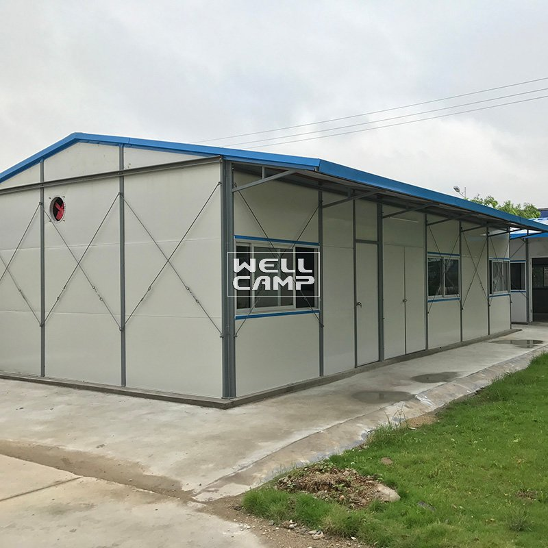 Affordable EPS Sandwich Panel Modular Prefab Houses , Wellcamp K-5