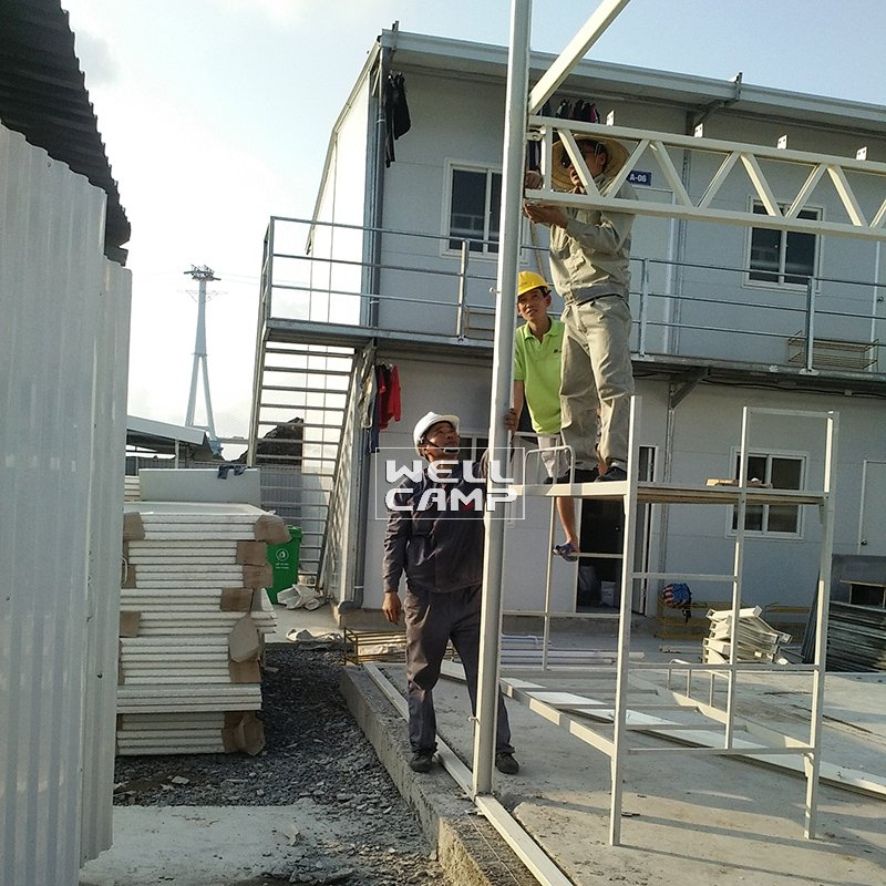Low Cost Prefabricated House for Factory Worker, Wellcamp K-20