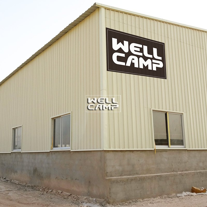WELLCAMP, WELLCAMP prefab house, WELLCAMP container house-Steel Sheet Steel Structure Building With