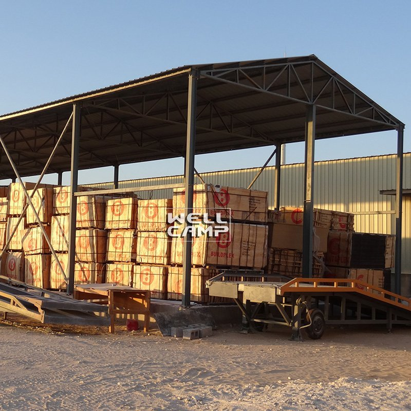 Steel Structure Frame Building for Goods, Wellcamp S-21