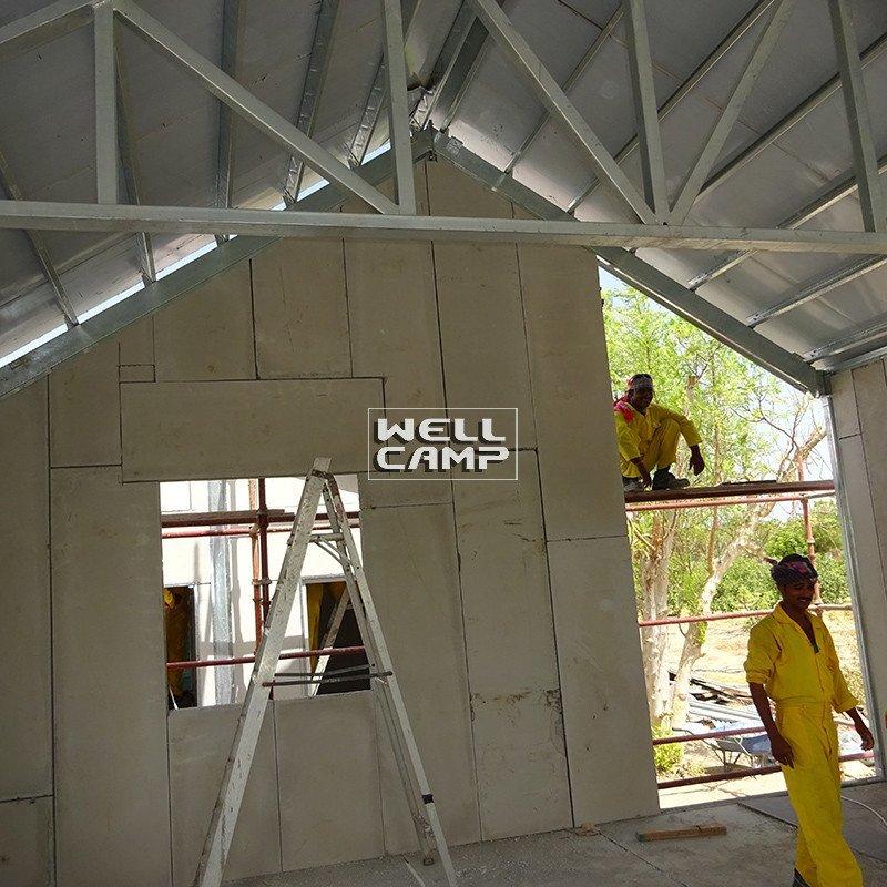 Prefabricated Concrete Villa vocation strong concrete