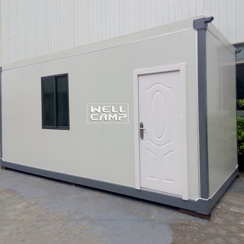 20ft Sandwich Panel Prefabricated Container Home, Wellcamp C-2