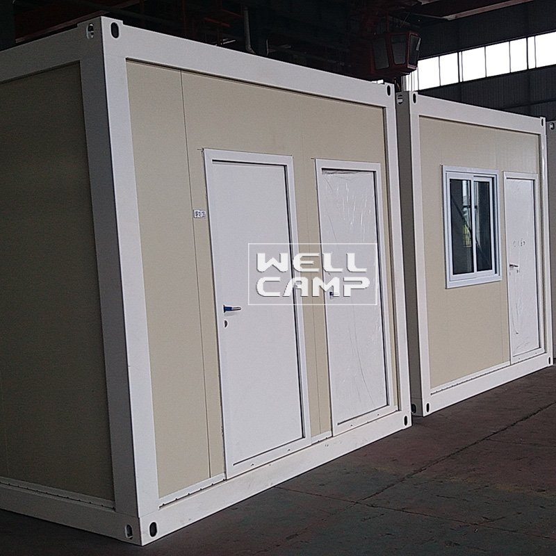 Glass Wool Panel Flat Pack Container House, Wellcamp FL-19