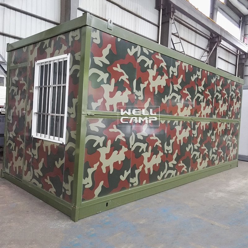 Unique Style Prefab Folding Container House, Wellcamp F-5