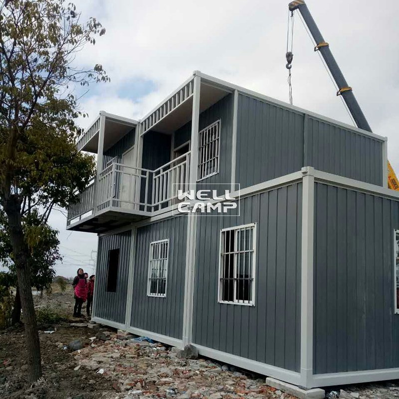 Detachable Ripple Container Office House for Living, Wellcamp C-17
