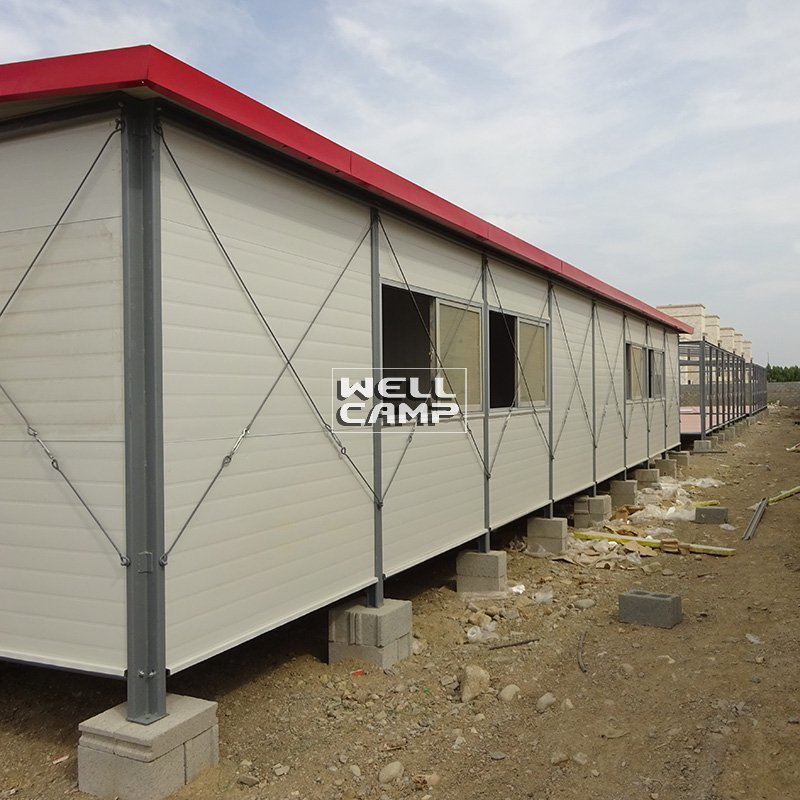 Single Pitch Mobile Prefab Homes For Accommodation, Wellcamp K-19