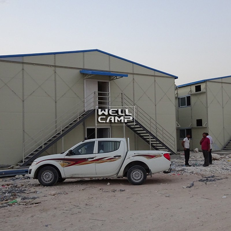 Mobile Prefabricated Homes For Worker Dormitory, Wellcamp K-3
