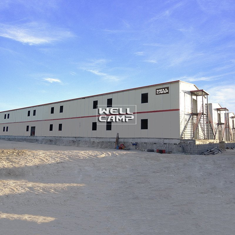 Two Floor Sandwich Panel Mobile Prefab Homes, Wellcamp T-1