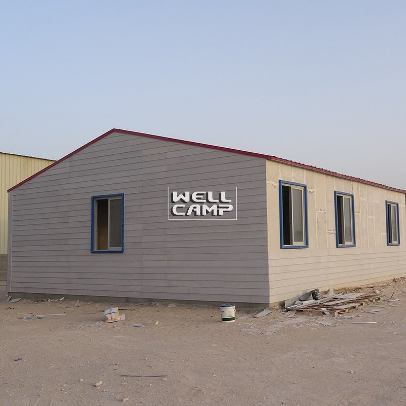 WELLCAMP, WELLCAMP prefab house, WELLCAMP container house Modular Prefab Concrete Villa Sandwich Panel House, Wellcamp CV-5 Prefabricated Concrete Villa image109