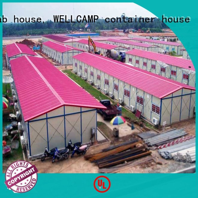 Hot prefab warehouse standard panel s7 WELLCAMP, WELLCAMP prefab house, WELLCAMP container house Brand