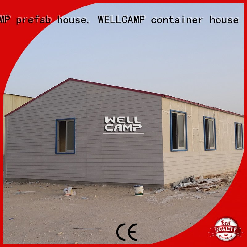 cv2 Prefabricated Concrete Villa low WELLCAMP, WELLCAMP prefab house, WELLCAMP container house company
