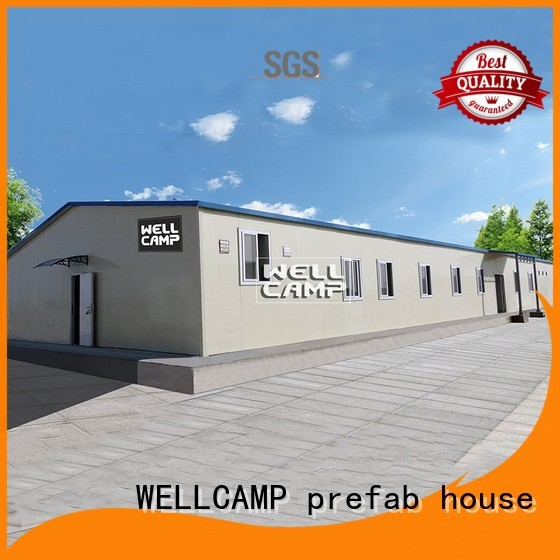 WELLCAMP, WELLCAMP prefab house, WELLCAMP container house Brand sandwich t14 economic prefab houses for sale manufacture