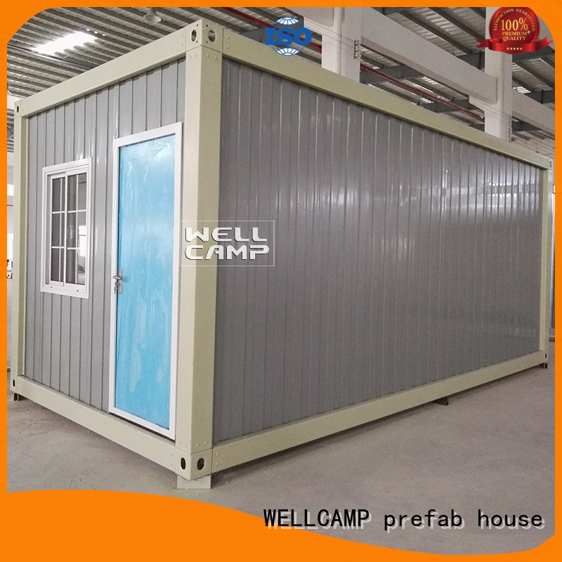 two portable modern container house