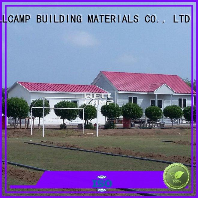 panel prefabricated modular house cv4 WELLCAMP, WELLCAMP prefab house, WELLCAMP container house